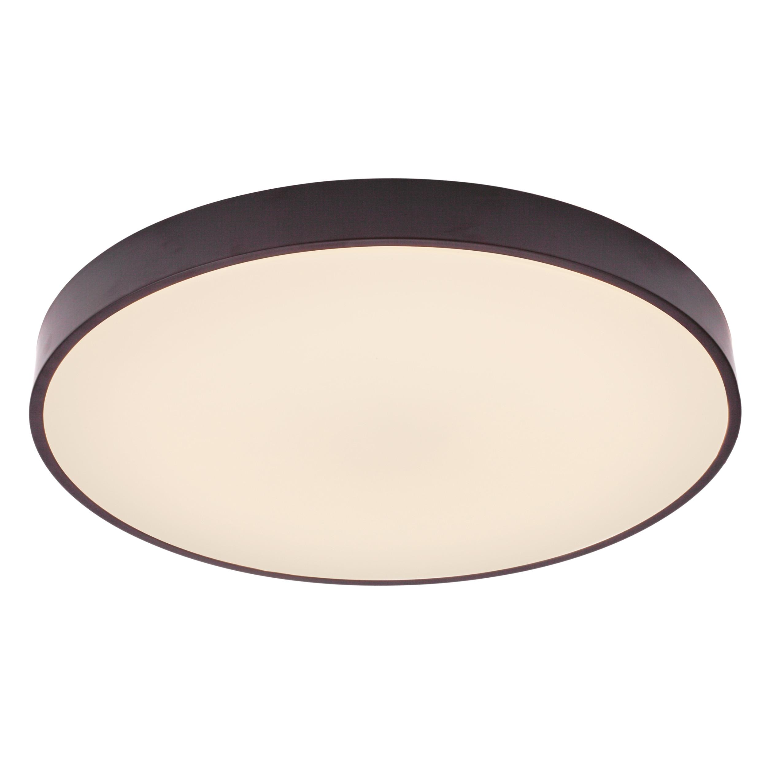 Brilliant Leuchten Slimline LED Deckenleuchte 33cm weiß/schwarz