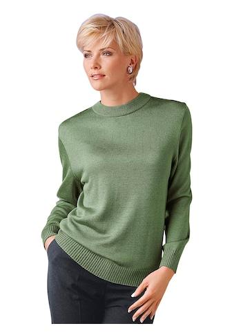Stehkragenpullover »Pullover« kaufen