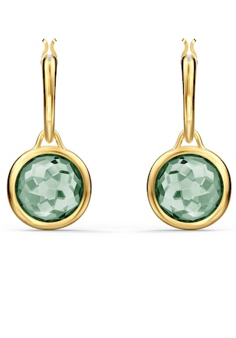 Swarovski Paar Creolen »Tahlia Mini Kreolen, grün, vergoldet, 5572587« kaufen