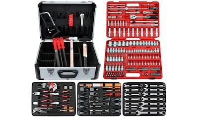 FAMEX Werkzeugset »716-21«, (Set, 174 St.), im Werkzeugkoffer kaufen