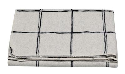 DAVID FUSSENEGGER Wohndecke, mit modernem Karodesign - Made in Austria kaufen