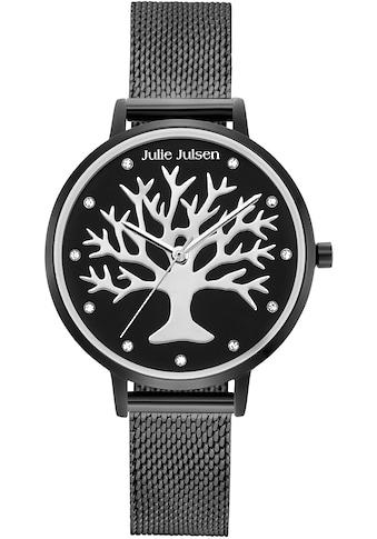 Julie Julsen Quarzuhr »Poems of Life All Black, JJW1167BLKME« kaufen