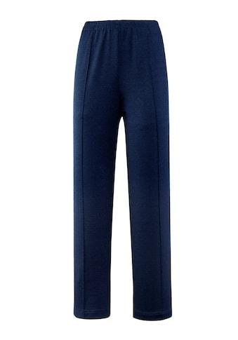 m. collection Jerseyhose mit figurgünstiger Biesennaht kaufen
