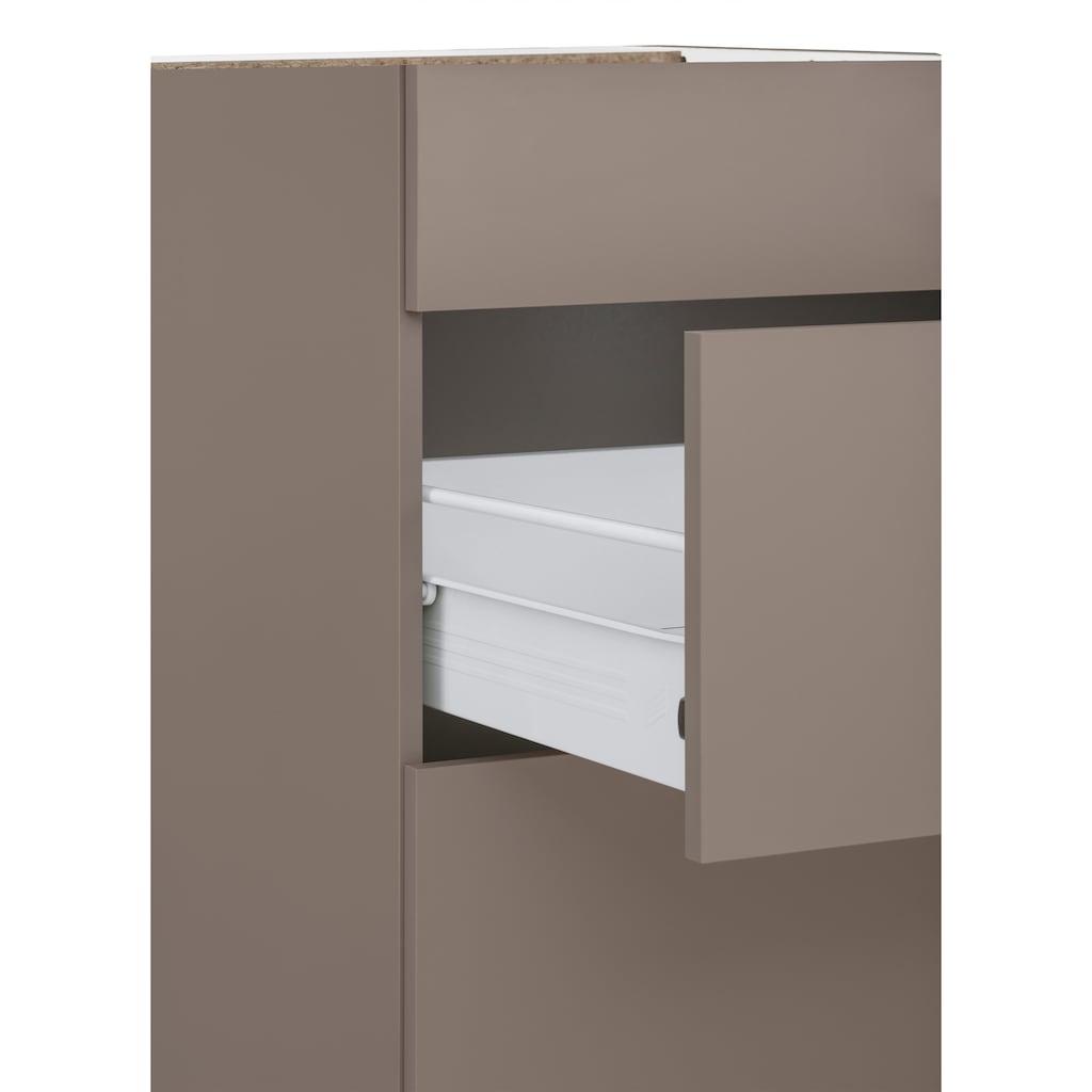 wiho Küchen Kochfeldumbauschrank »Kansas«, 90 cm breit, ohne Arbeitsplatte