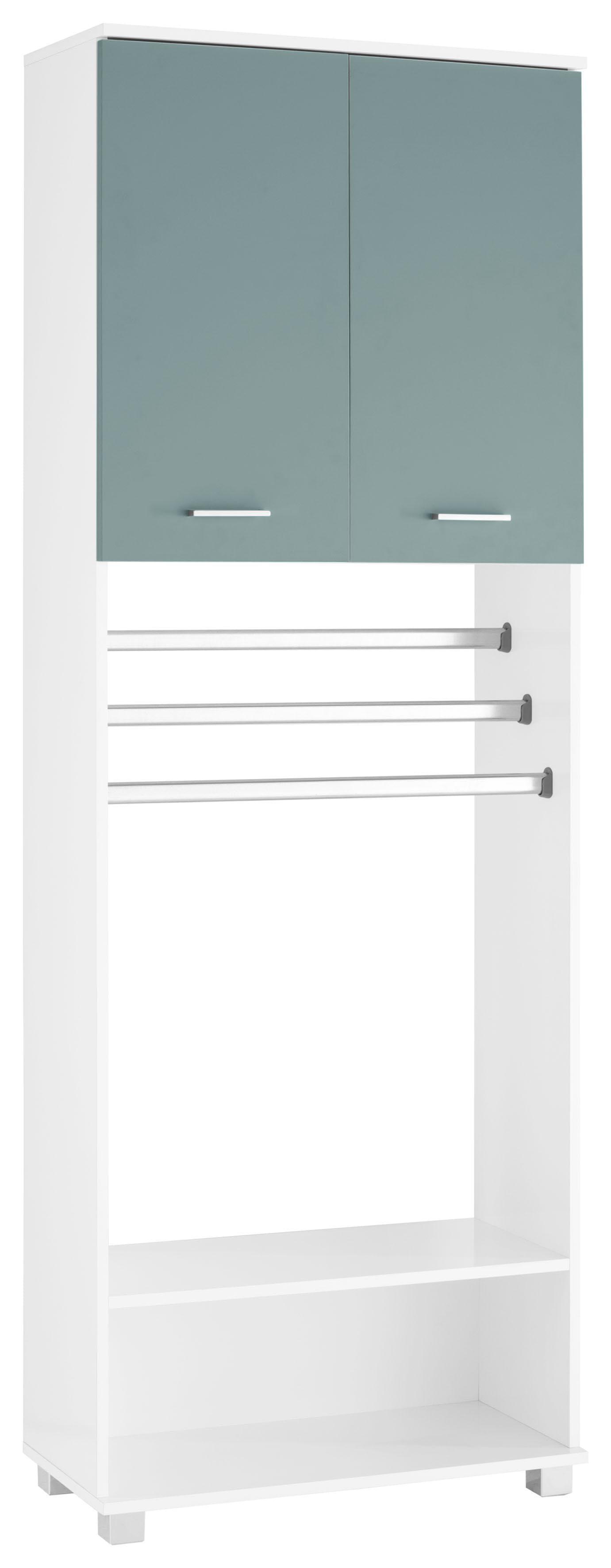 Schildmeyer Umbauschrank Lumo mit Handtuchhalter | Küche und Esszimmer > Küchenschränke > Umbauschränke | Weiß | Glänzend - Melamin | Schildmeyer