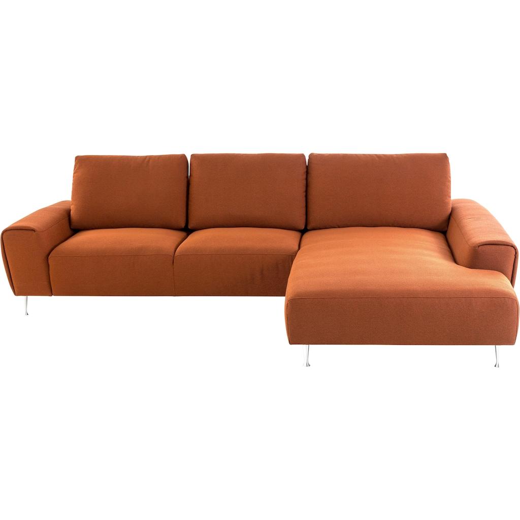 Villeroy & Boch Ecksofa »MAYLA«, wahlweise mit Sitztiefenverstellung, Design von Wilhelm Bolinth