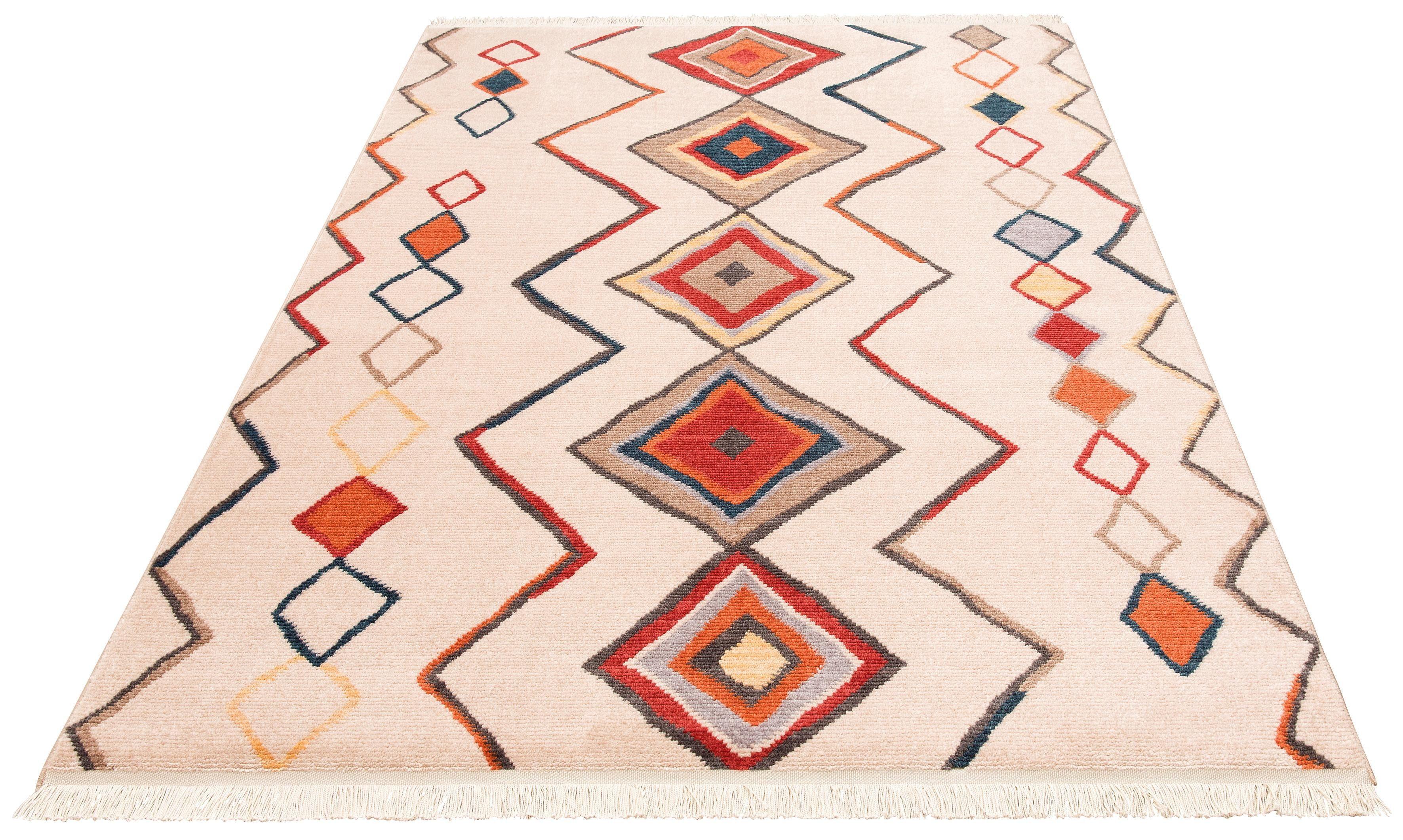 Teppich Kilim 80099 merinos rechteckig Höhe 10 mm maschinell gewebt