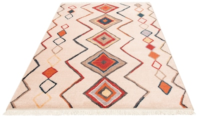 Teppich, »Kilim 80099«, merinos, rechteckig, Höhe 10 mm, maschinell gewebt kaufen