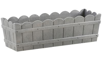 Emsa Blumenkasten »COUNTRY«, BxTxH: 50x17,5x15,5 cm, grau kaufen