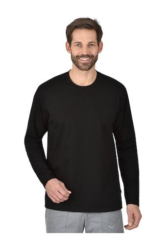 Trigema Langarmshirt aus 100% Baumwolle kaufen