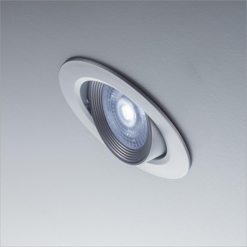 B.K.Licht LED Einbauleuchte »Alcor«, LED-Board, Warmweiß, LED Einbaustrahler LED Spots Strahler Panel Flach Einbau Decken-Leuchte Lampe 90mm