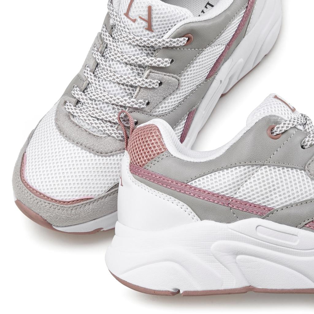 LASCANA Sneaker, mit ultraleichter Chunky-Sohle in toller Farbkombination