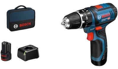 Bosch Professional Akku-Schlagbohrschrauber »GSB 12V-15«, inkl. 2 Akkus und Ladegerät kaufen