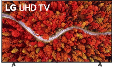 "LG LCD-LED Fernseher »86UP80009LA«, 217 cm/86 "", 4K Ultra HD, Smart-TV, (bis zu... kaufen"