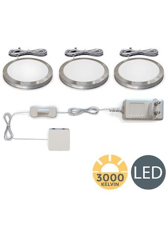 B.K.Licht LED Unterbauleuchte, LED-Board, 3 St., Warmweiß, LED Schranklicht Küche SET... kaufen