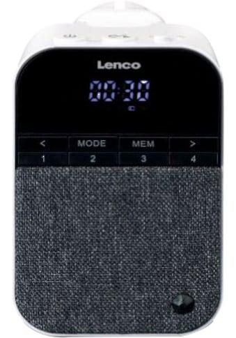 Lenco »PPR - 100WH« Digitalradio (DAB+) (Digitalradio (DAB+),FM - Tuner) kaufen