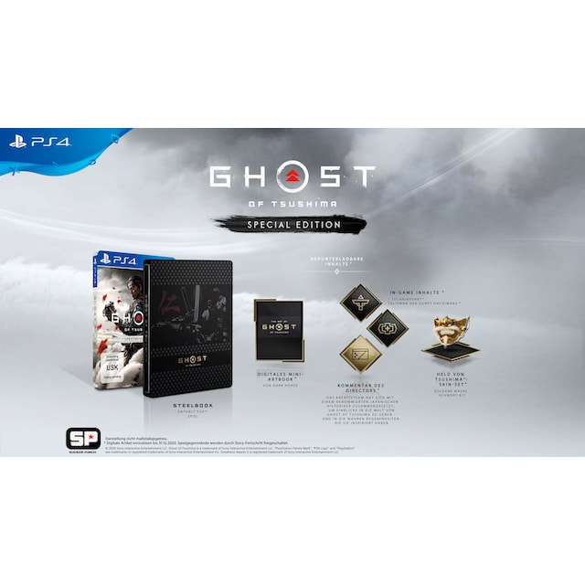 Ghost of Tsushima Special Edition PlayStation 4