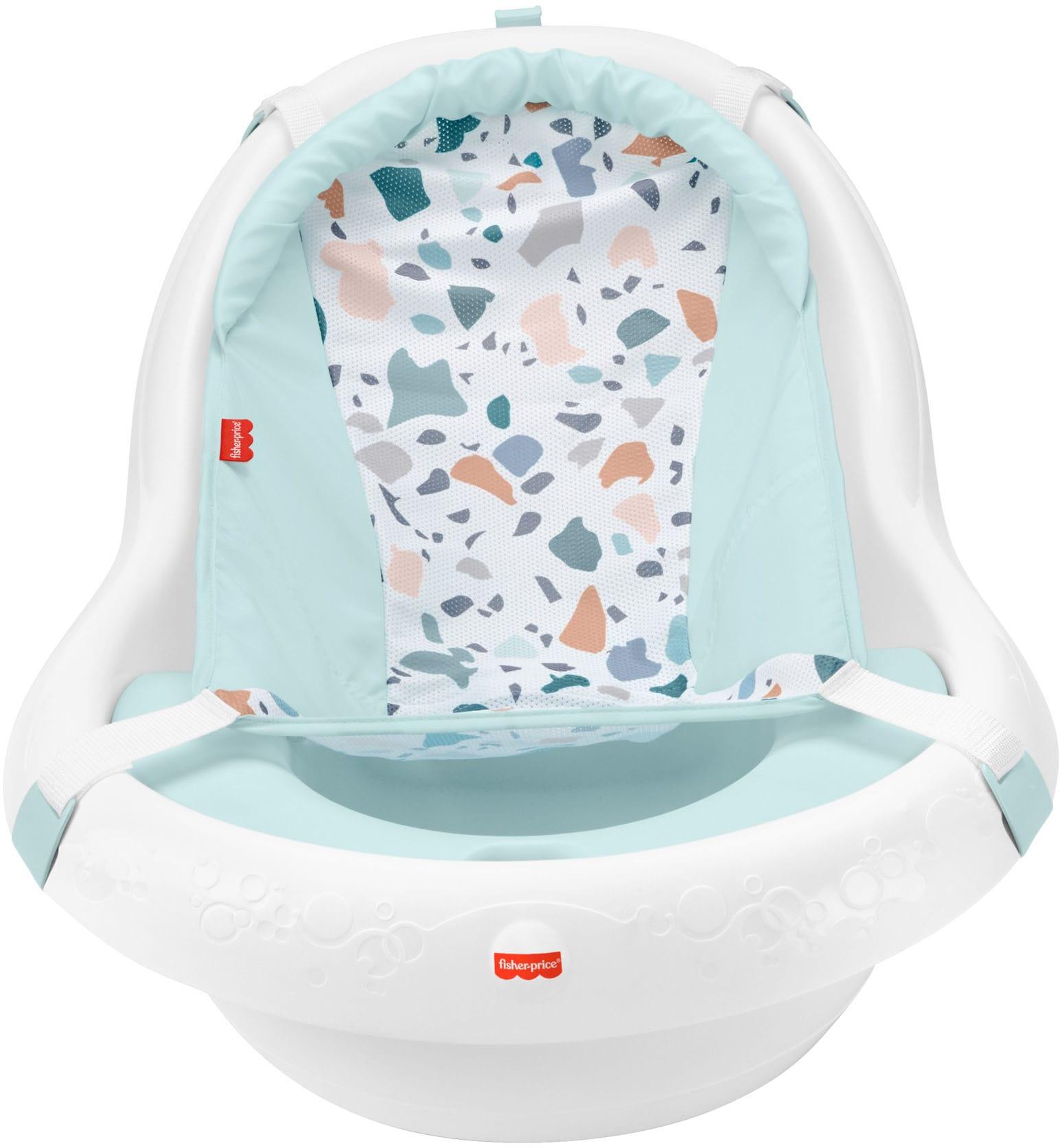 Fisher-Price Babywanne 4-in-1 Baby-Badewanne bunt Baby Babybadewannen baden Körperpflege Gesundheit Badewannen