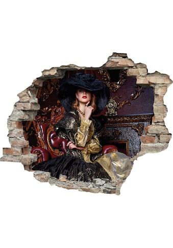 queence Wandtattoo »Frau« kaufen