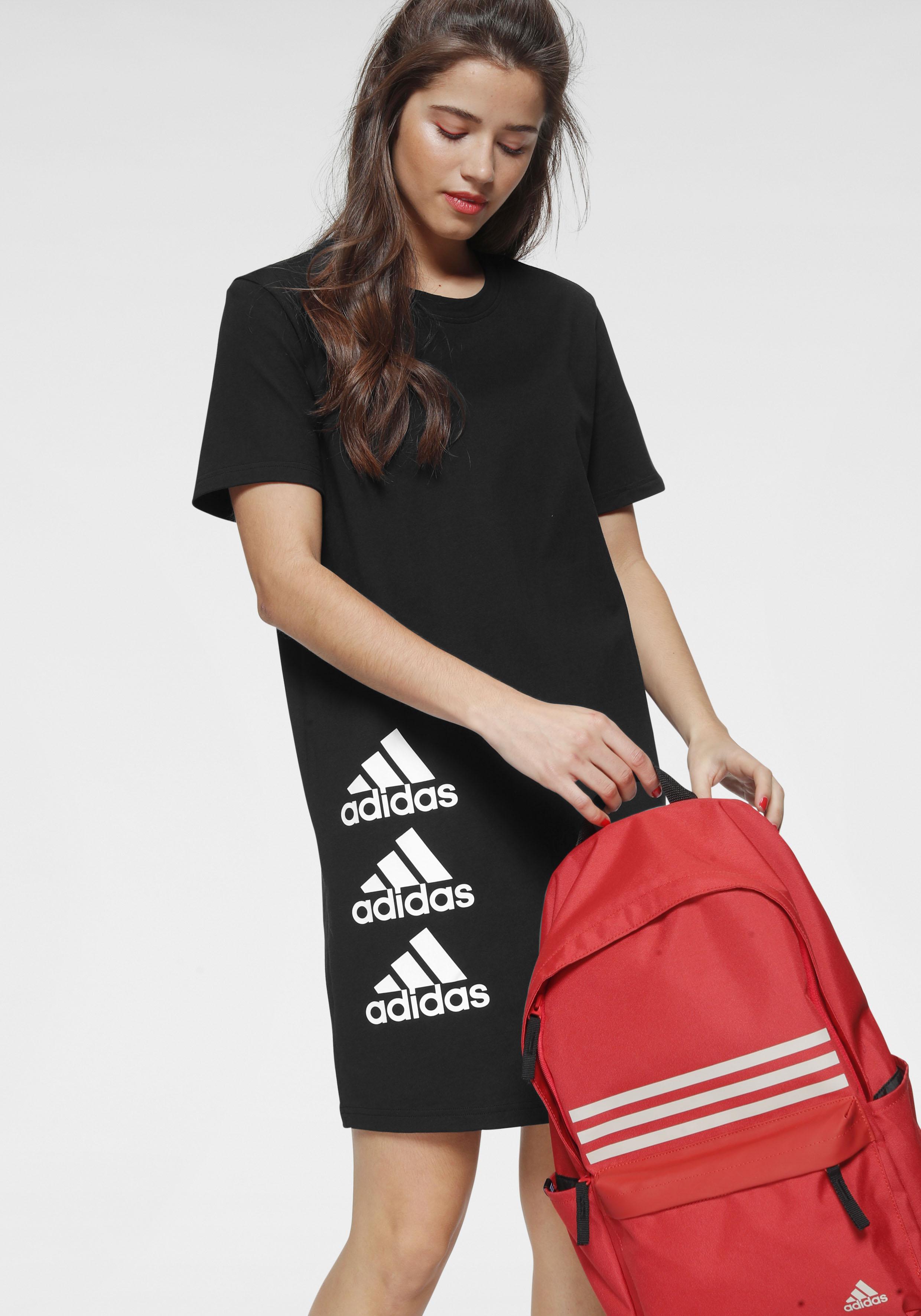 adidas performance -  Shirtkleid WOMEN STACK TEE DRESS