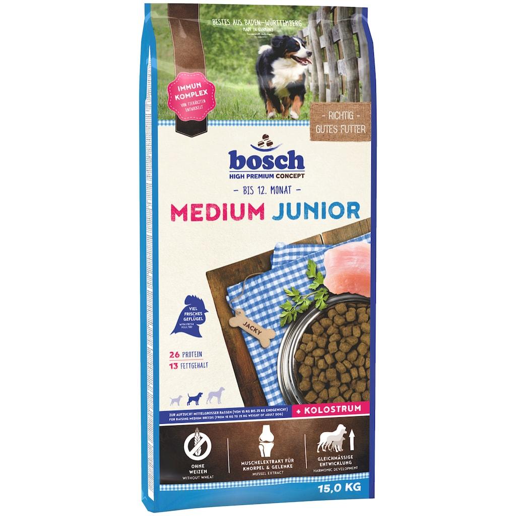 Bosch Petfood Trockenfutter »Medium Junior«, 15 kg