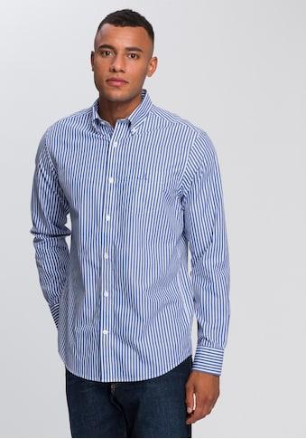 Gant Langarmhemd »THE BROADCLOTH STRIPE REG« kaufen