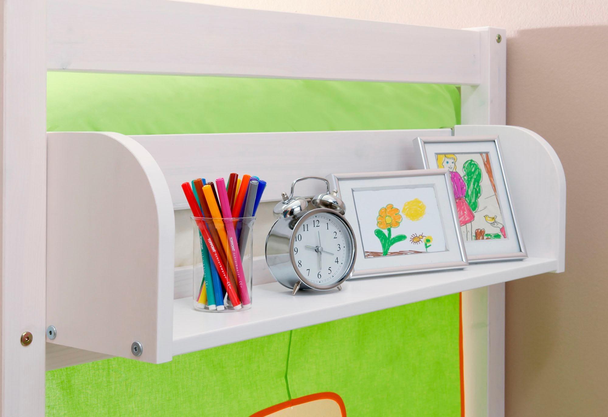Ticaa Einhängeregal in verschiedenen Breiten Kiefer   Kinderzimmer > Kinderzimmerregale   Weiß   Metall - Kiefer   Ticaa