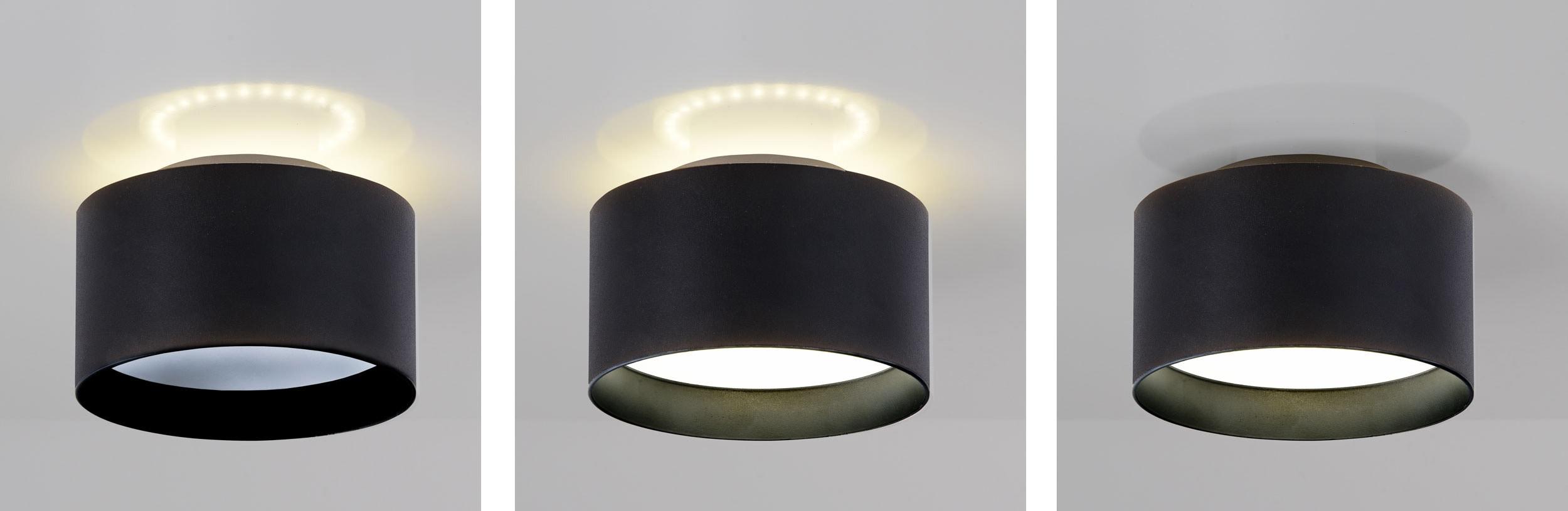 näve LED Deckenspot Trios, LED-Board, 1 St., Warmweiß-Neutralweiß, 1 Deckenspot, 3 Strahler Einstellungen möglich