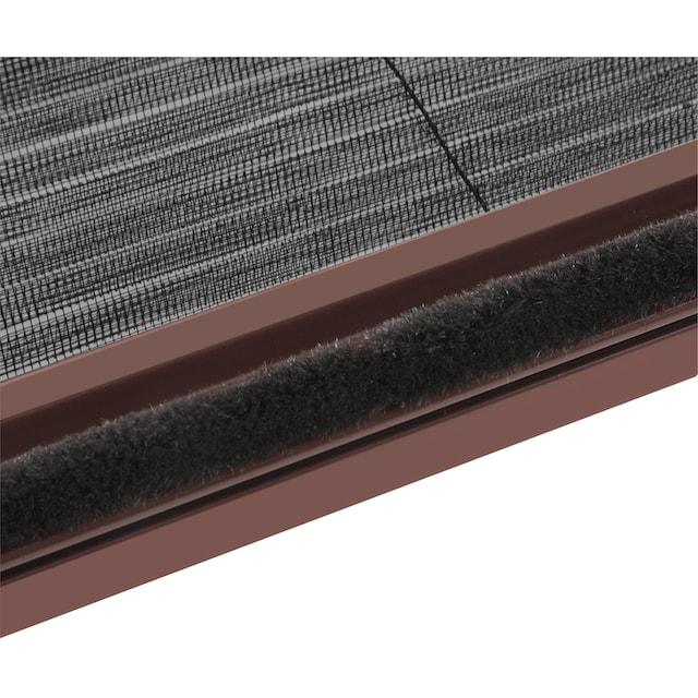 HECHT Insektenschutz-Dachfenster-Rollo braun/schwarz, BxH: 160x180 cm