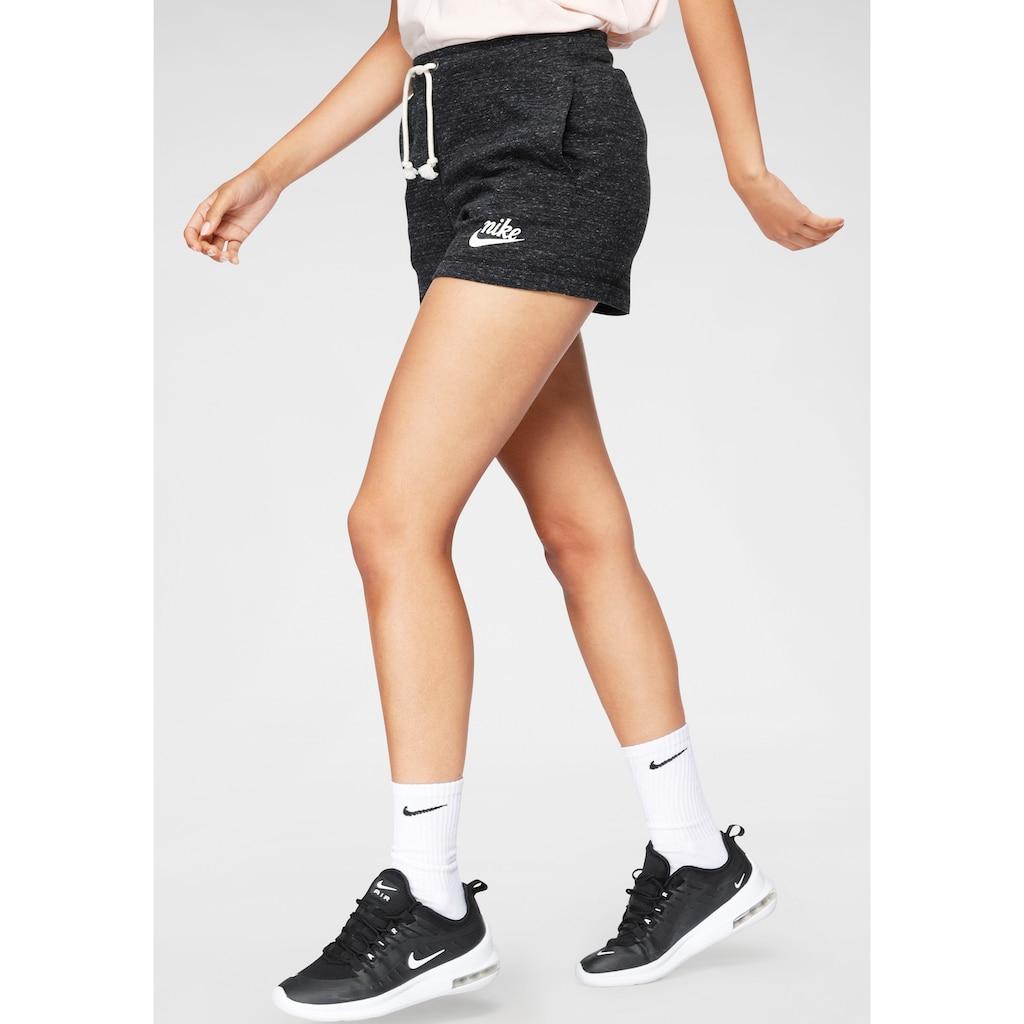 Nike Sportswear Shorts »Nike Sportswear Gym Vintage Women's Shorts«, Melierte Optik