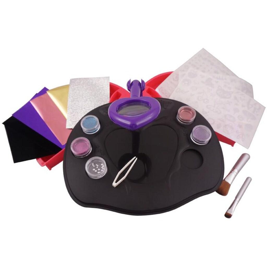 Knorrtoys® Kreativset »GLITZA Party Studio mit 120 Tattoos«, (Set), Für glatte Oberflächen