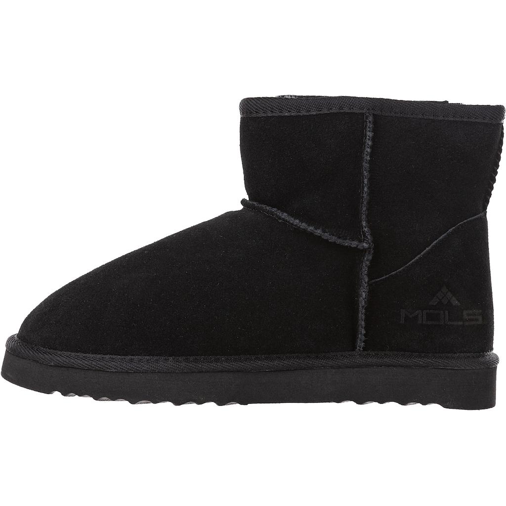 MOLS Stiefel »Towlan W Leather Boots«, mit kuscheligem Innenfutter