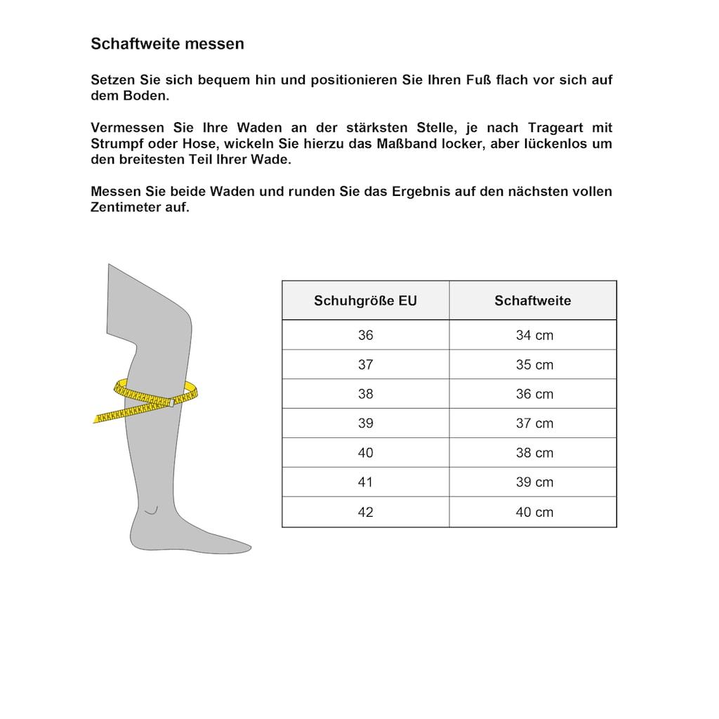Tamaris Schnürstiefel »Tris«, mit variablen Schaft