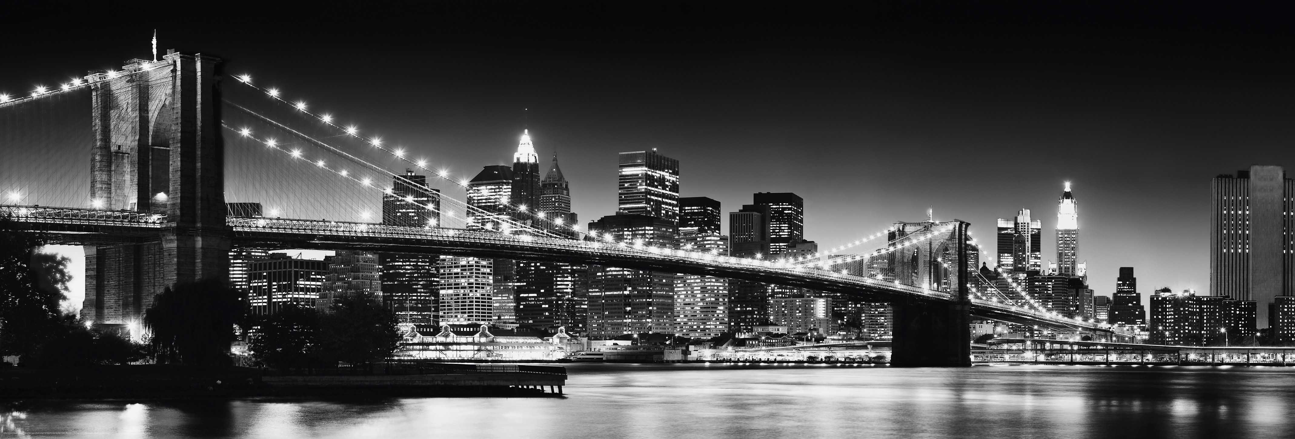 Home affaire Bild »New York - brooklyn bridge«,...
