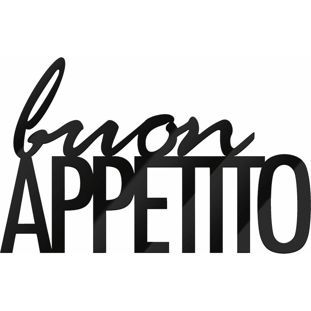 Wall-Art Wandbild »Buon Appetito«, 48/30 cm