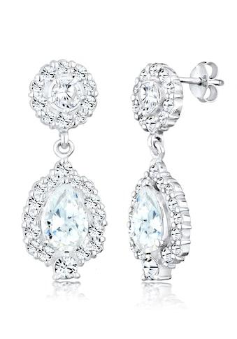 Elli Paar Ohrhänger »Ohrhänger Swarovski® Kristalle Zirkonia 925 Silber« kaufen