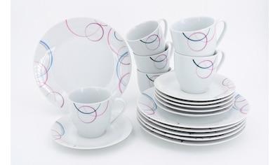 """Retsch Arzberg Kaffeeservice """"Pastello"""" (24 - tlg.), Porzellan kaufen"""
