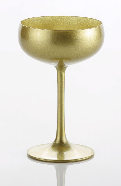 Stölzle Sektglas (6-tlg.) goldfarben Kristallgläser Gläser Glaswaren Haushaltswaren Trinkgefäße