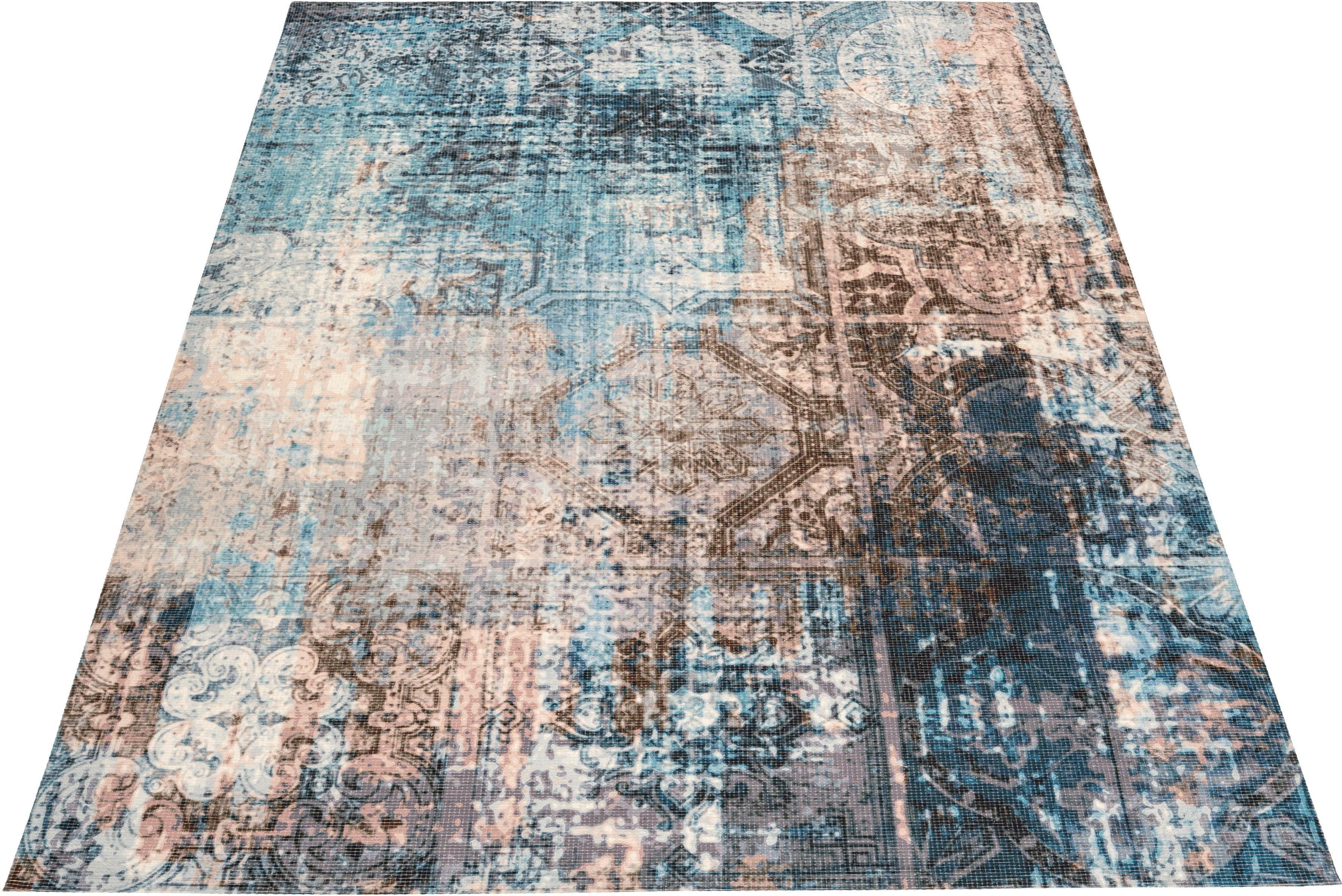 Teppich Sonja Home affaire rechteckig Höhe 10 mm gedruckt