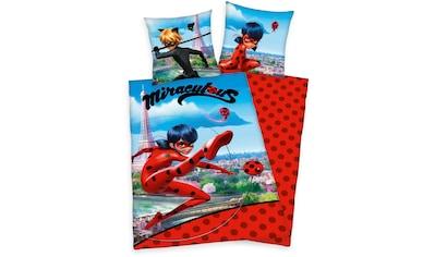 Kinderbettwäsche »Miraculous«, mit tollem Ladybug- und Cat Noir-Motiv kaufen