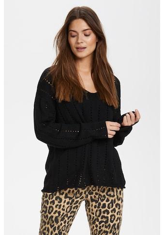 KAFFE V - Ausschnitt - Pullover »KAbarte V - Neck« kaufen