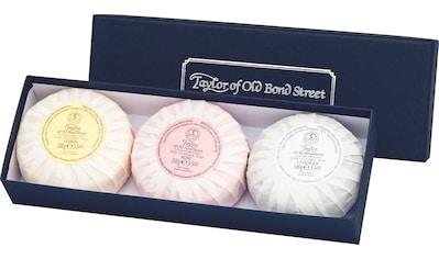 Taylor of Old Bond Street Seifen-Set »Handseifen Geschenkset, 3 x 100 g«, (3 tlg.) kaufen