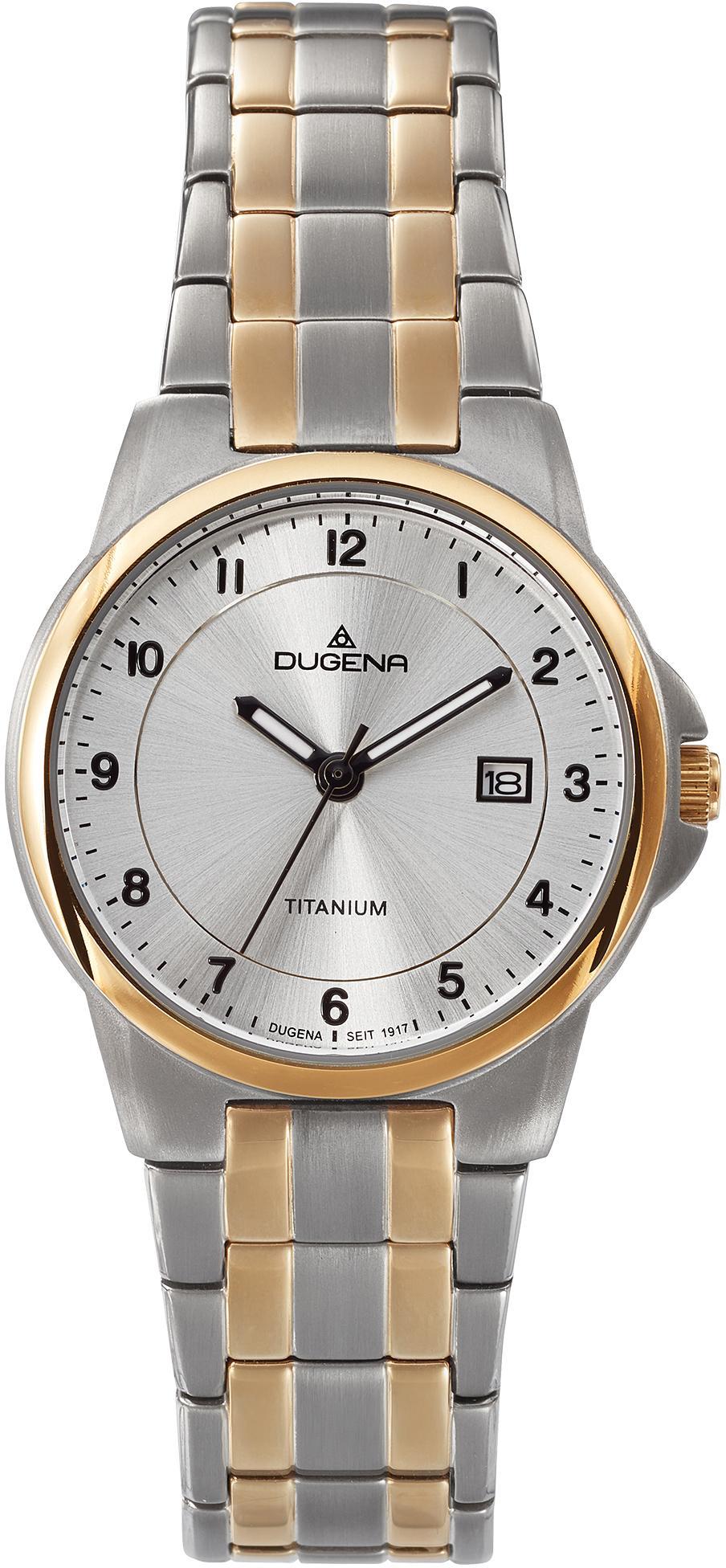 Dugena Titanuhr Gent 4460915 | Uhren > Titanuhren | Goldfarben | Dugena