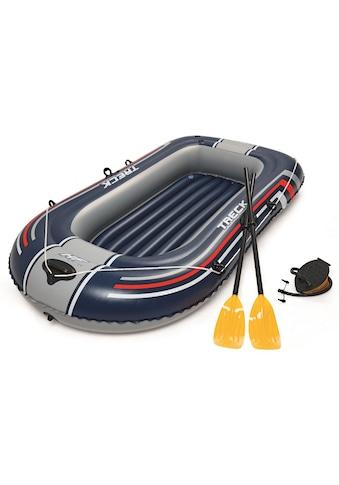 Bestway Schlauchboot »Hydro-Force Schlauchboot-Set Treck X1«, (mit 2 Paddeln und... kaufen