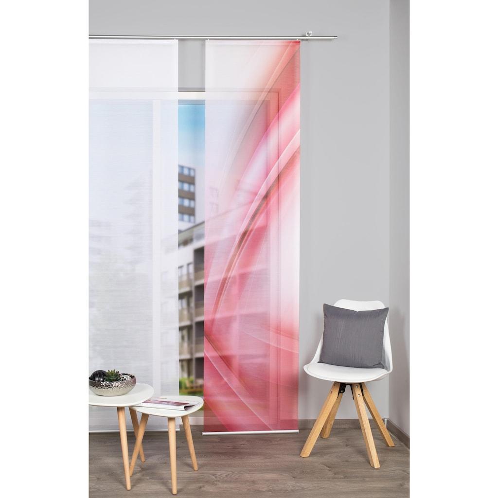 Vision S Schiebegardine »UNO«, HxB: 260x60, Schiebevorhang Bambusoptik Digitaldruck