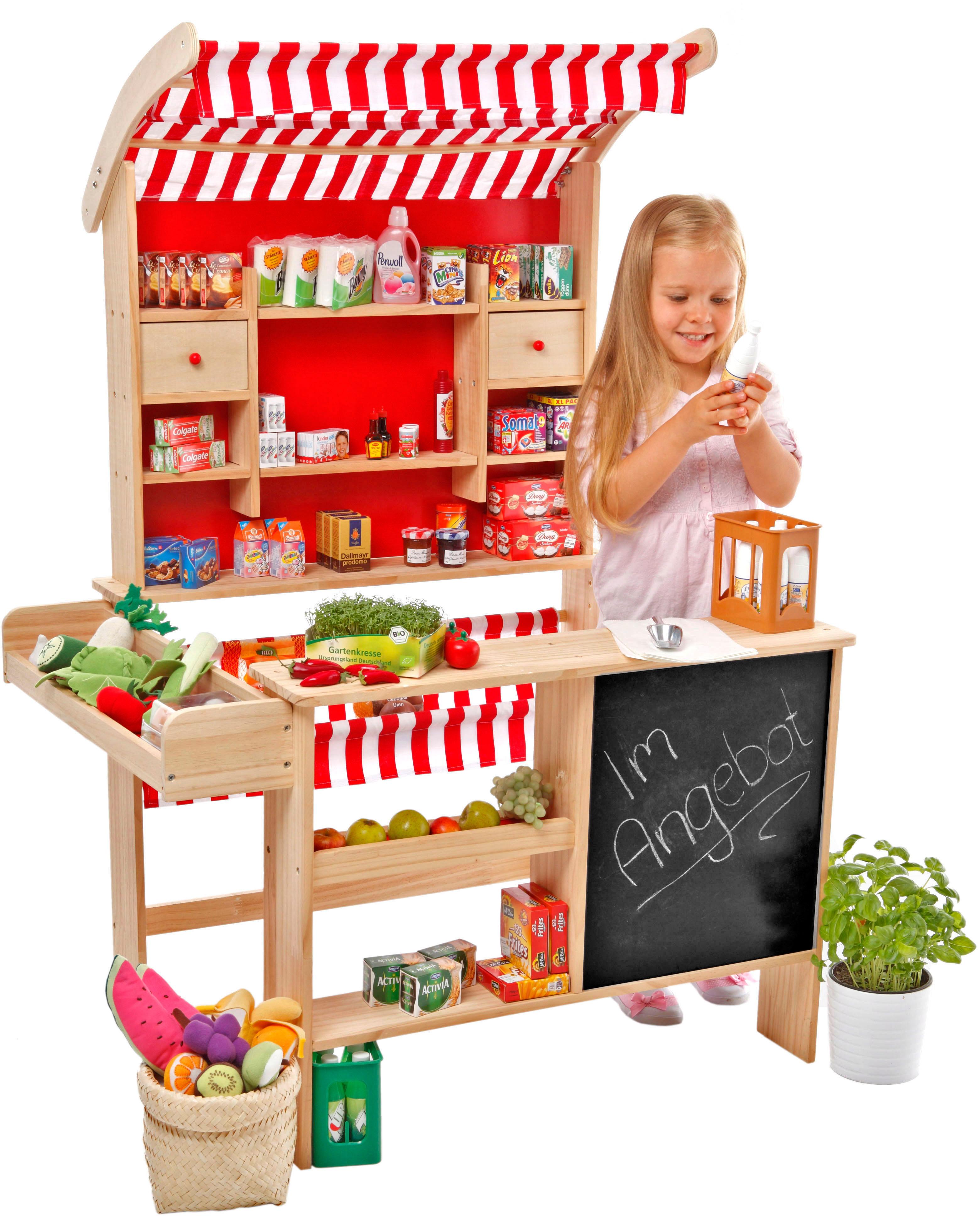 tanner kaufladen gro er marktstand baur. Black Bedroom Furniture Sets. Home Design Ideas
