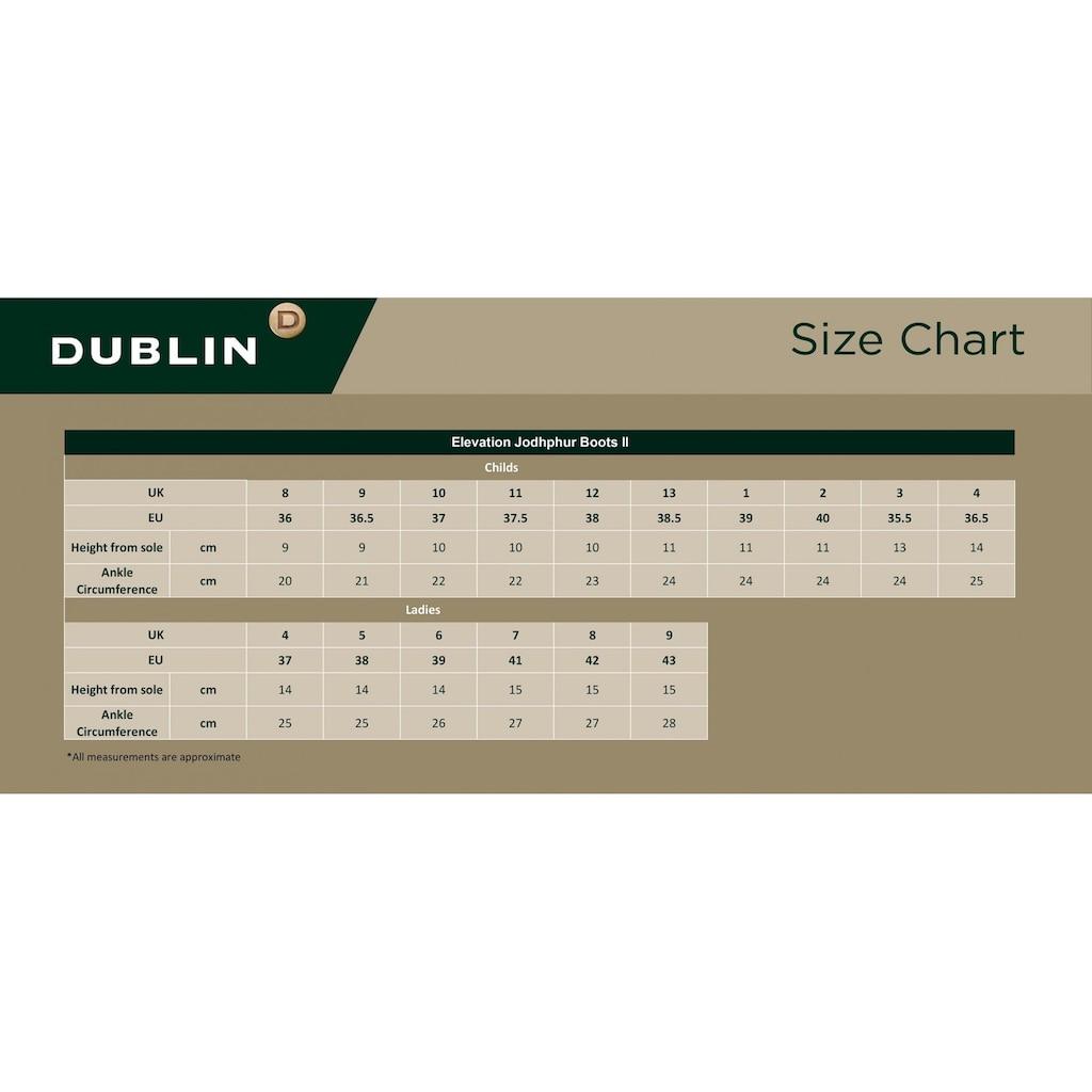 Dublin Reitstiefel »Unisex Leder-Jodhpurstiefel Elevation II«