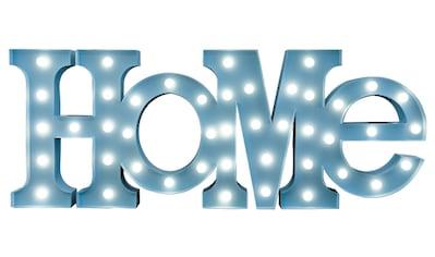 MARQUEE LIGHTS LED Dekolicht »Home Schriftzug«, 1 St., Warmweiß, Wandlampe, Tischlampe... kaufen