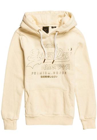 Superdry Kapuzensweatshirt »Vintage Logo Luster Brushed Hoodie« kaufen