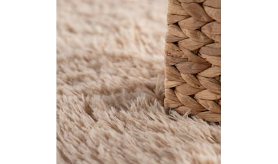 Paco Home Hochflor-Teppich »Silky 591«, rund, 33 mm Höhe, Shaggy, besonders weich und... kaufen